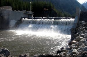 Small run-of-river hydropower project